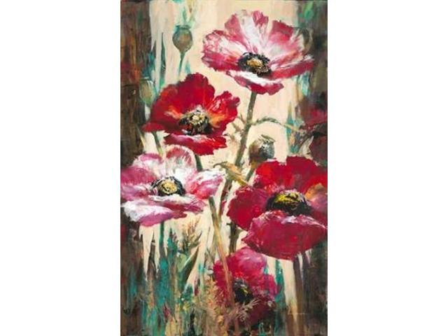 Spontaneous Poppies Poster Print by Brent Heighton (24 x 36)