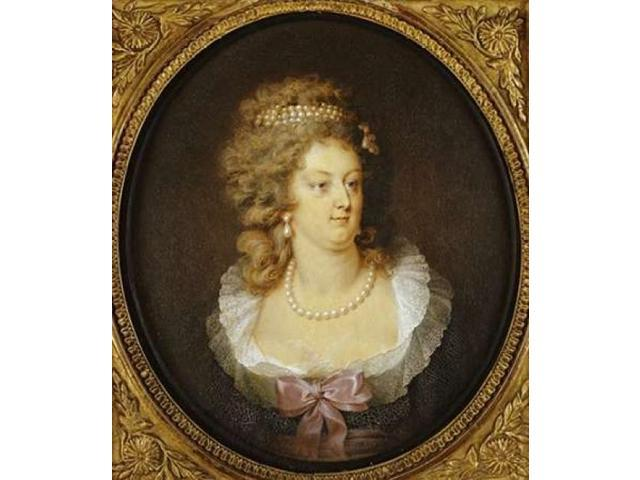 Bust Portrait of Marie-Antoinette Poster Print by Jean Guerin (24 x 24)