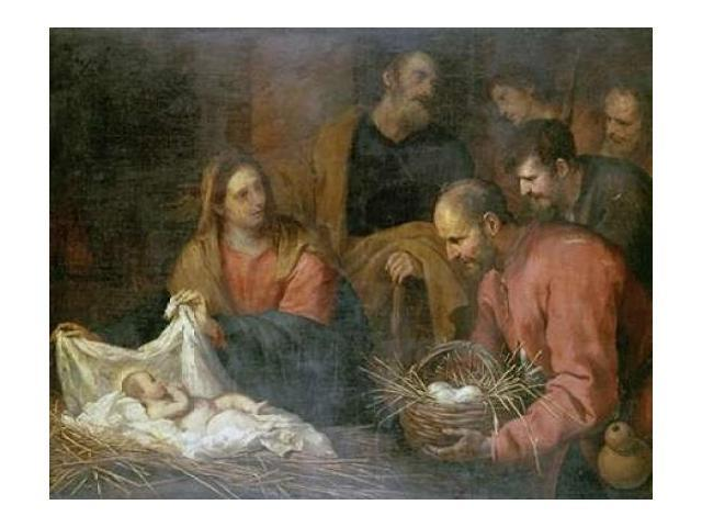 The Adoration of The Shepherds Poster Print by  Giovanni Andrea De Ferrari  (8 x 10)