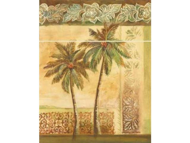 Palm Trees II Poster Print by Gregory Gorham (22 x 28)
