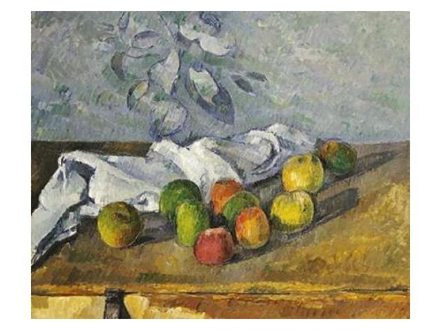 Apples and a Napkin Poster Print by  Paul Cezanne  (10 x 12)