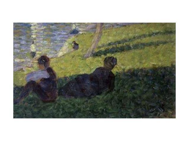 Study for A Sunday on La Grande Jatte I Poster Print by Georges Seurat (24 x 36)