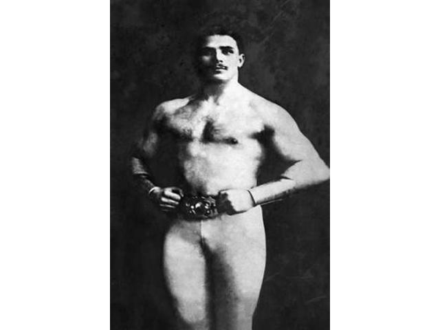 Bodybuilder in Tights Poster Print by  Vintage Muscle Men (24 x 36)