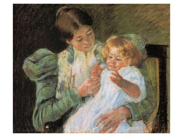 Pattycake 1897 Poster Print by Mary Cassatt (20 x 24)