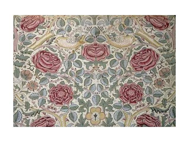 The Rose Pattern Poster Print by  William Morris  (10 x 14)