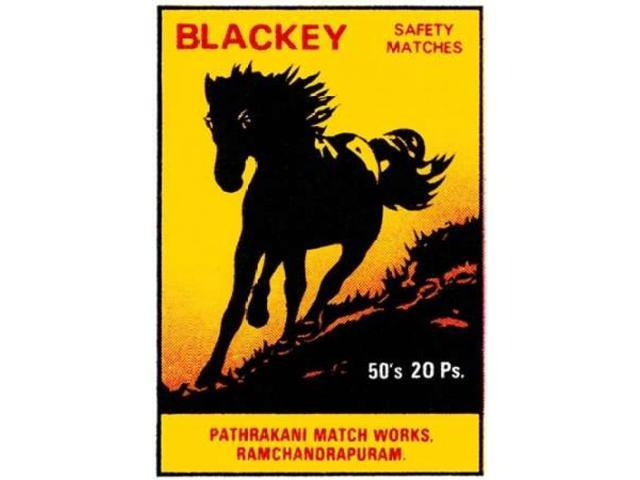 Blackey Safety Matches Poster Print by  Phillumenart (20 x 28)