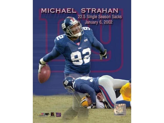 Michael Strahan sack record Photo Print (8 x 10)