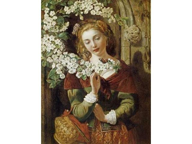 May Poster Print by Daniel Maclise (22 x 28)