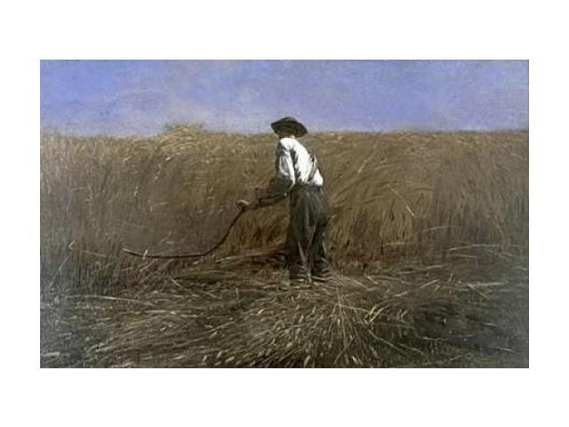 The Veteran in a New Field Poster Print by  Winslow Homer  (12 x 18)