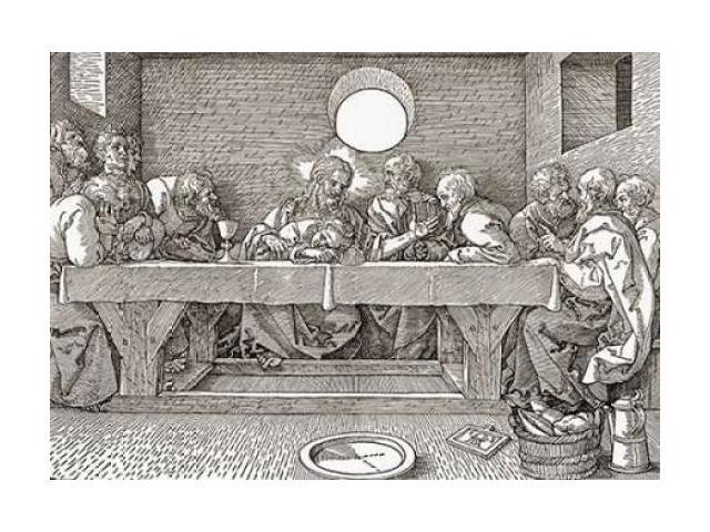 The Last Supper Poster Print by Albrecht Durer (20 x 28)