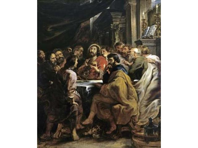 The Last Supper Poster Print by Peter Paul Rubens (24 x 24)