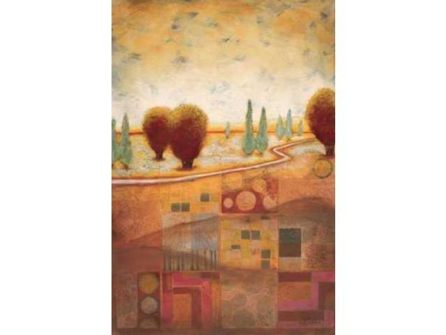 Quilted Landscape I Poster Print by Susan Osborne (12 x 18)