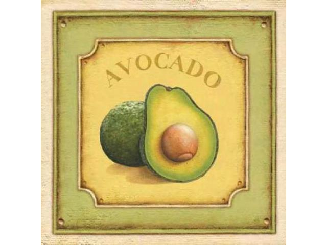 Avocado Poster Print by Daphne Brissonnet (24 x 24)