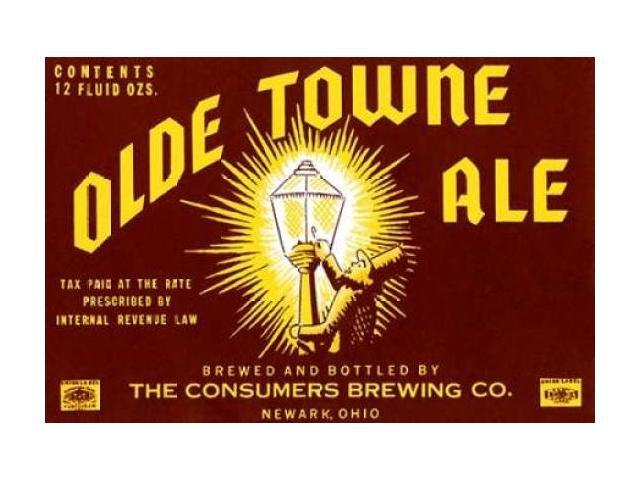 Olde Towne Ale Poster Print by Vintage Booze Labels  (12 x 18)