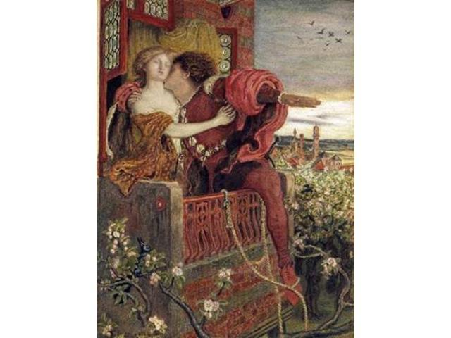 Romeo and Juliet Poster Print by Ford Maddox Brown (22 x 28)