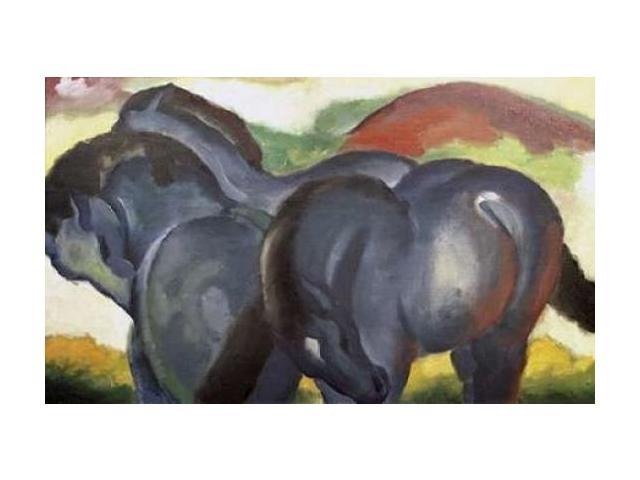 Little Blue Horses Poster Print by Franz Marc (24 x 36)