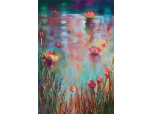 Garden Reeds Poster Print by Donna Young (12 x 18)