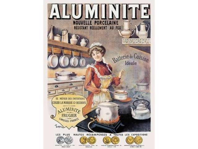 Cooks: Aluminite Poster Print by  Francisco Tamagno  (9 x 12)
