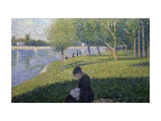 Study for A Sunday on La Grande Jatte II Poster Print by  Georges Seurat  (12 x 18)