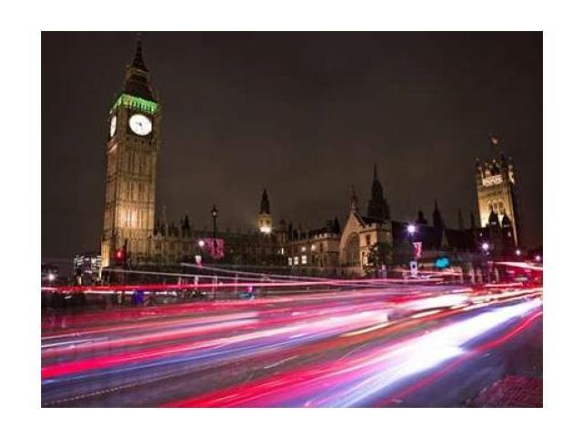 Big Ben at night Poster Print by Assaf Frank (18 x 24)