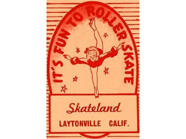 Its Fun To Roller Skate Poster Print by  Retrorollers (24 x 36)