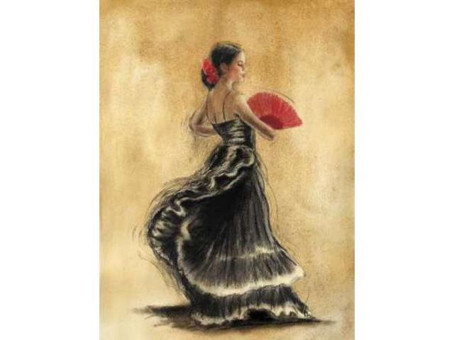 Flamenco Dancer II Poster Print by Caroline Gold (18 x 24)