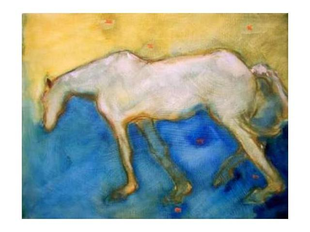 Horse 2 Poster Print by Kate Hoffman (22 x 28)