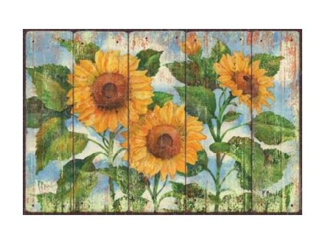 Summer Sunflowers Poster Print by Paul Brent (24 x 36)