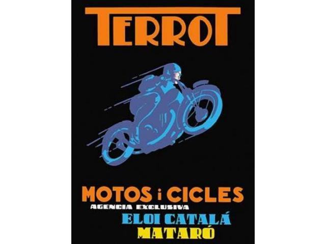 Terrot Motorcycles and Bicycles Poster Print by Unknown  (11 x 14)