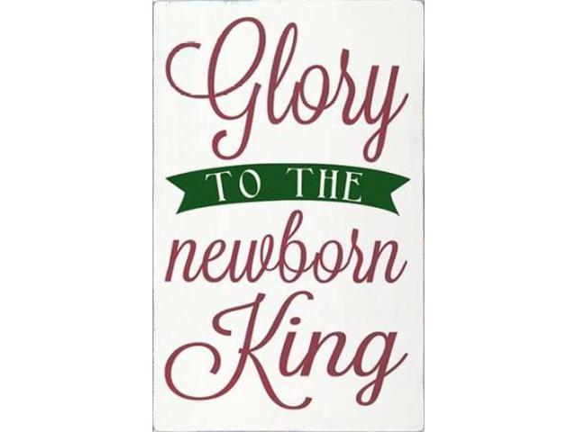 Newborn King with Green Poster Print by Erin Deranja (24 x 36)
