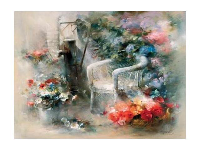 Idyllic place Poster Print by Willem Haenraets (18 x 24)