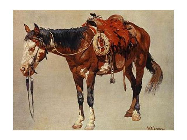 Navajo Pony Poster Print by  William R. Leigh  (9 x 12)