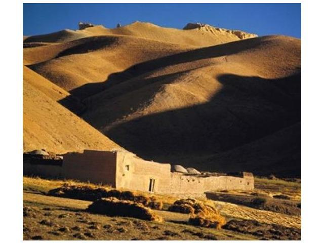 Afghanistan, Bamian Valley, Caravansary, Hindu Kush Poster Print by Ric Ergenbright (34 x 30)