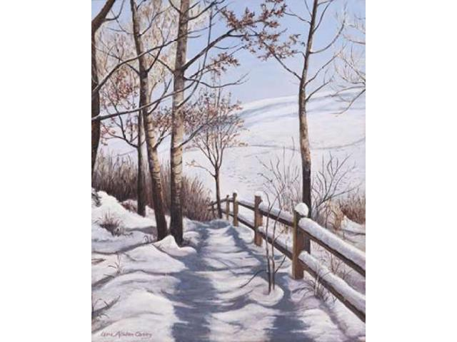 Fresh Snow Poster Print by  Lene Alston Casey  (8 x 10)
