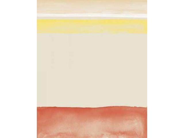 Red and Yellow Watercolor Poster Print by Amy Cummings (24 x 30)