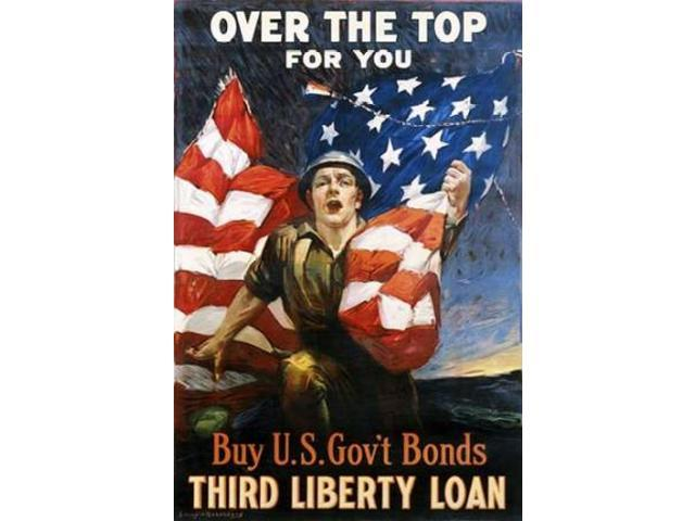 Over the Top for You circa 1918 Poster Print by Unknown  (12 x 18)