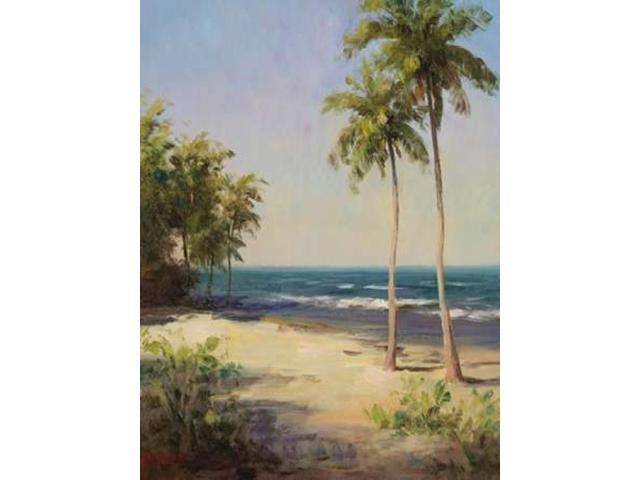 Palms On The Beach II Poster Print by  Dupre (18 x 24)