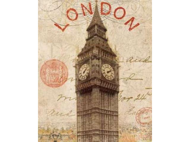 Letter from London Poster Print by  Wild Apple Portfolio (24 x 30)