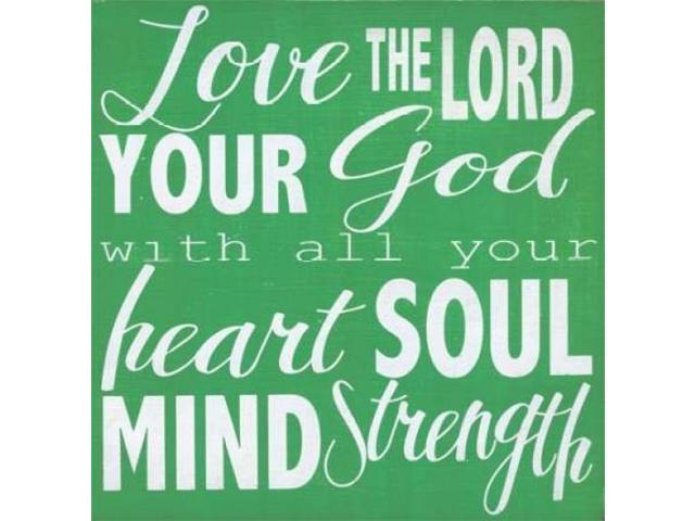 Heart - Soul - Mind Poster Print by Alli Rogosich (24 x 24)