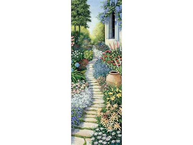 Flowers in fulfilment Poster Print by Peter Motz (24 x 48)