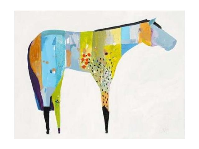 Horse No. 27 Poster Print by Anthony Grant (22 x 28)