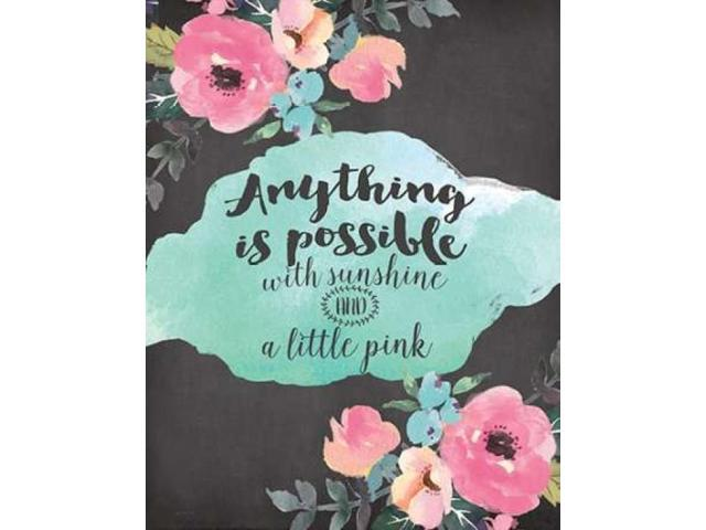 Anything is Possible Poster Print by Jo Moulton (22 x 28)