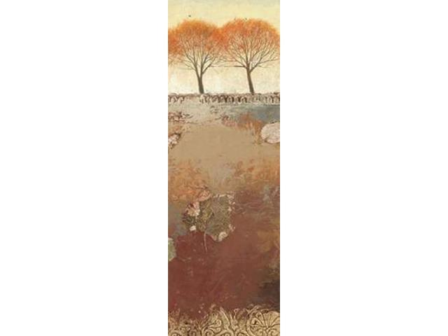 Field and Forest Panel III Poster Print by James Wiens (12 x 36)