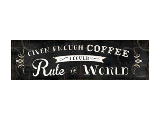 Rule the World Poster Print by Jennifer Pugh (12 x 36)