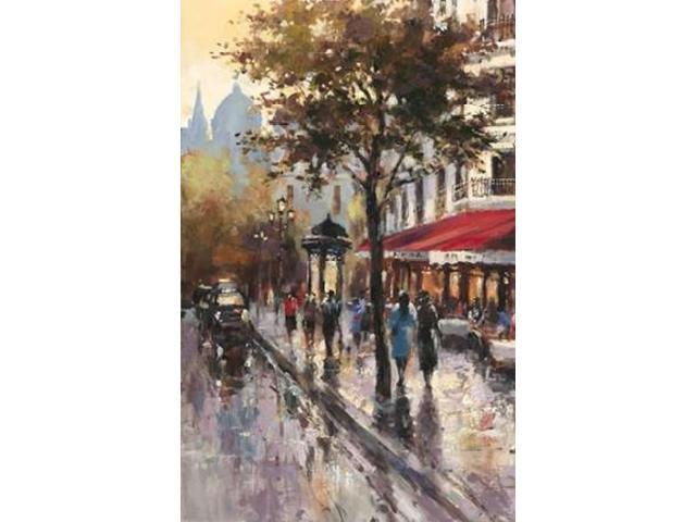 Avenue Des Champs-Elysees 1 Poster Print by Brent Heighton (12 x 18)