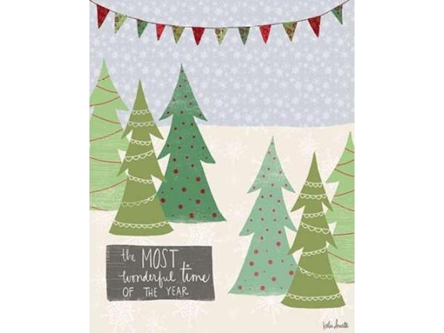 Most Wonderful Time of the Year Poster Print by Katie Doucette (24 x 30)