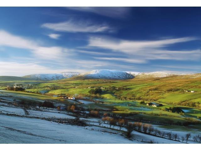 Sperrin Mountains Co Tyrone Ireland Poster Print (18 x 12)