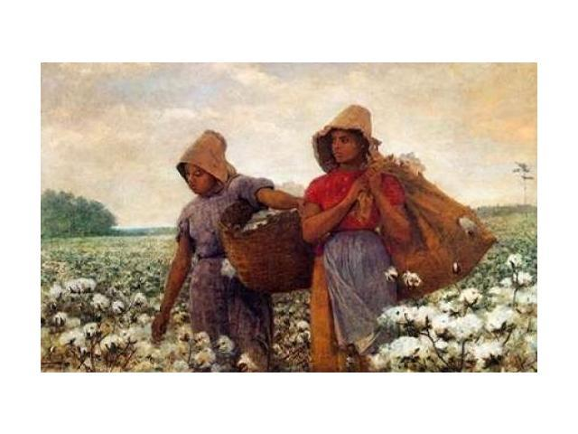 The Cotton Pickers Poster Print by Winslow Homer (24 x 36)