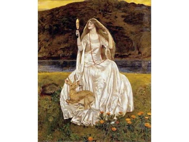 The Damsel of The Lake Poster Print by Frank Cadogan Cowper (20 x 24)