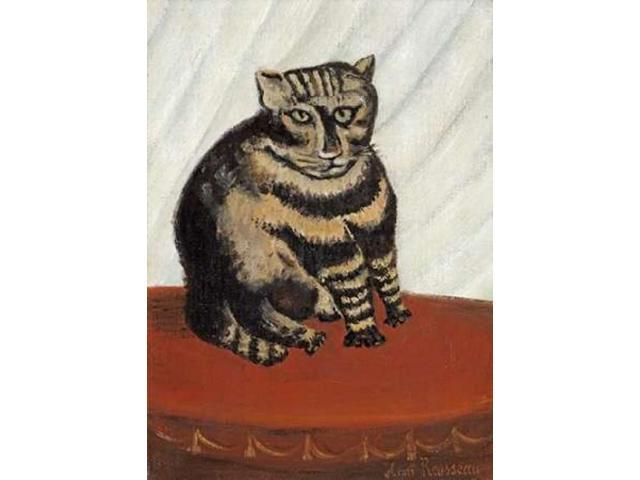 The Tabby Poster Print by Henri Rousseau (18 x 24)